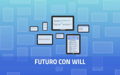 """Lesson 35 Il futuro con """"will"""""""