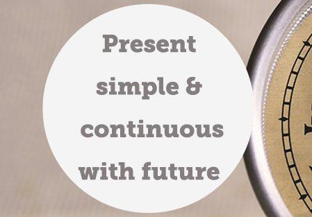"""Lesson 36 Il futuro con il """"Present Simple""""/""""Present Continuous"""""""